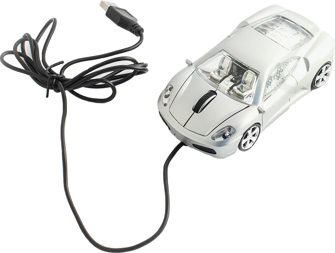 лучшая цена Эврика А30 Автомобиль, Silver мышь