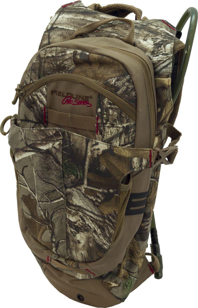 Рюкзак для охоты Fieldline Fox River Hydration Pack, цвет: камуфляж, светло-коричневый