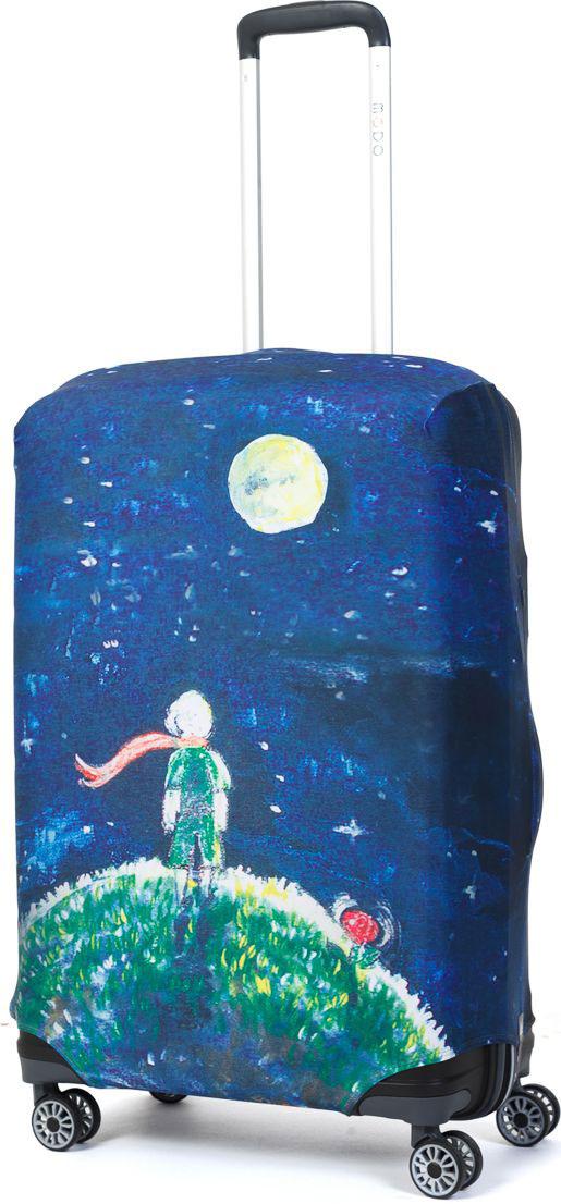 Чехол для чемодана Mettle Little Prince, размер M (высота чемодана: 65-75 см) чехол для чемодана mettle творческо размер m высота чемодана 55 70 см