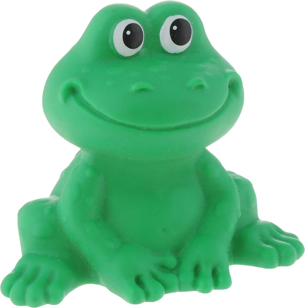 Весна Игрушка для ванной ЛягушонокВ2354Игрушка для ванной Весна Лягушонок непременно понравятся вашему малышу. Это игрушка из окрашенного в массе ПВХ - пластизоля. Иногда их называют резиновые игрушки, но пластизоль - это другой полимер, более долговечный и качественный, чем резина. Игрушки выполнены в виде лягушонка. Благодаря своему обаятельному весёлому образу и функциональности игрушка может стать замечательным подарком для игры в ванне или на суше.