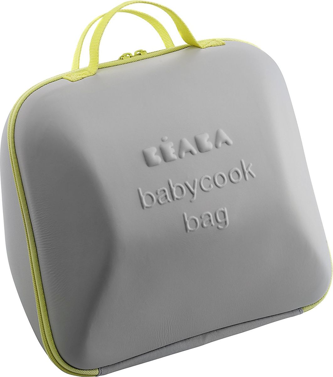 Beaba Сумка для блендера-пароварки цвет серый салатовый