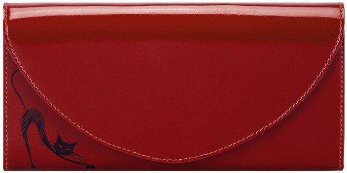 Портмоне женское Fabula Cats, цвет: красный. PJ.66.SH пальто женское sh bethlehem цвет красный rna18223cp red fire размер xs 40