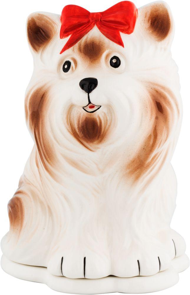 Hilltop Собака йорк чай черный листовой подарок Цейлона, 50 г hilltoр волшебный дед мороз чай черный листовой подарок цейлона 80 г