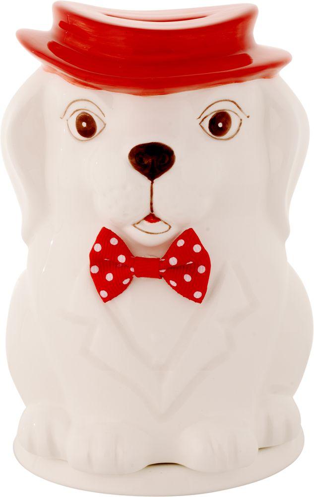 Hilltop Собака в шляпе чай черный листовой подарок Цейлона, 50 г hilltoр волшебный дед мороз чай черный листовой подарок цейлона 80 г