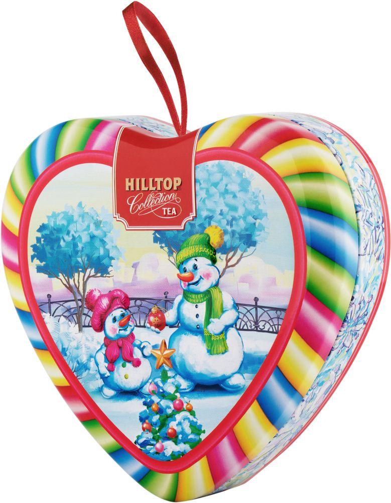 Hilltop Румяные снеговики чай листовой Волшебный снегопад Молочный оолонг, 50 г