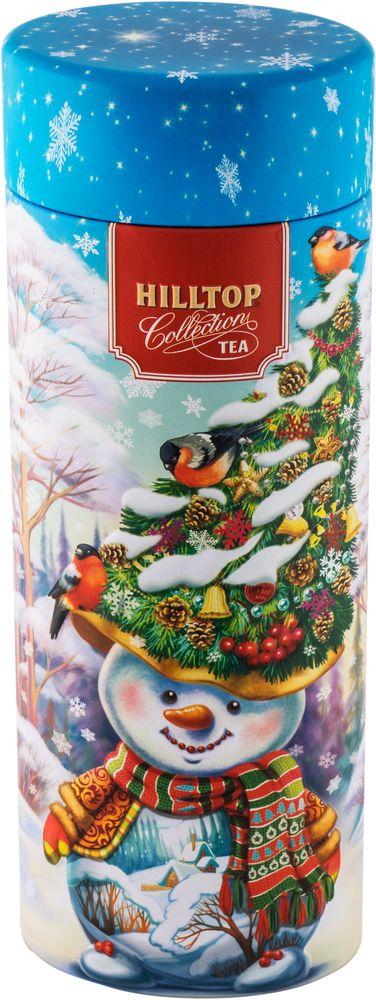 где купить Hilltop Снеговик-лесовик чай черный листовой, 100 г по лучшей цене