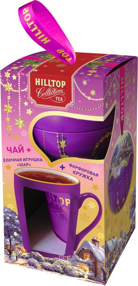 Hilltop Набор Новогодний пейзаж чай черный листовой с кружкой, 80 г новогодний поющий автобус 2018 12 15t17 00 page 10