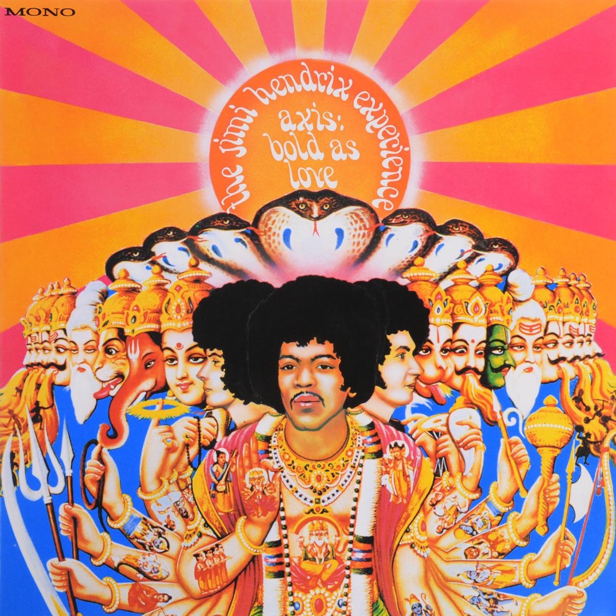 Джими Хендрикс Jimi Hendrix. Axis Bold As Love (Mono) (LP) jimi hendrix jimi hendrix axis bold as love 180 gr mono