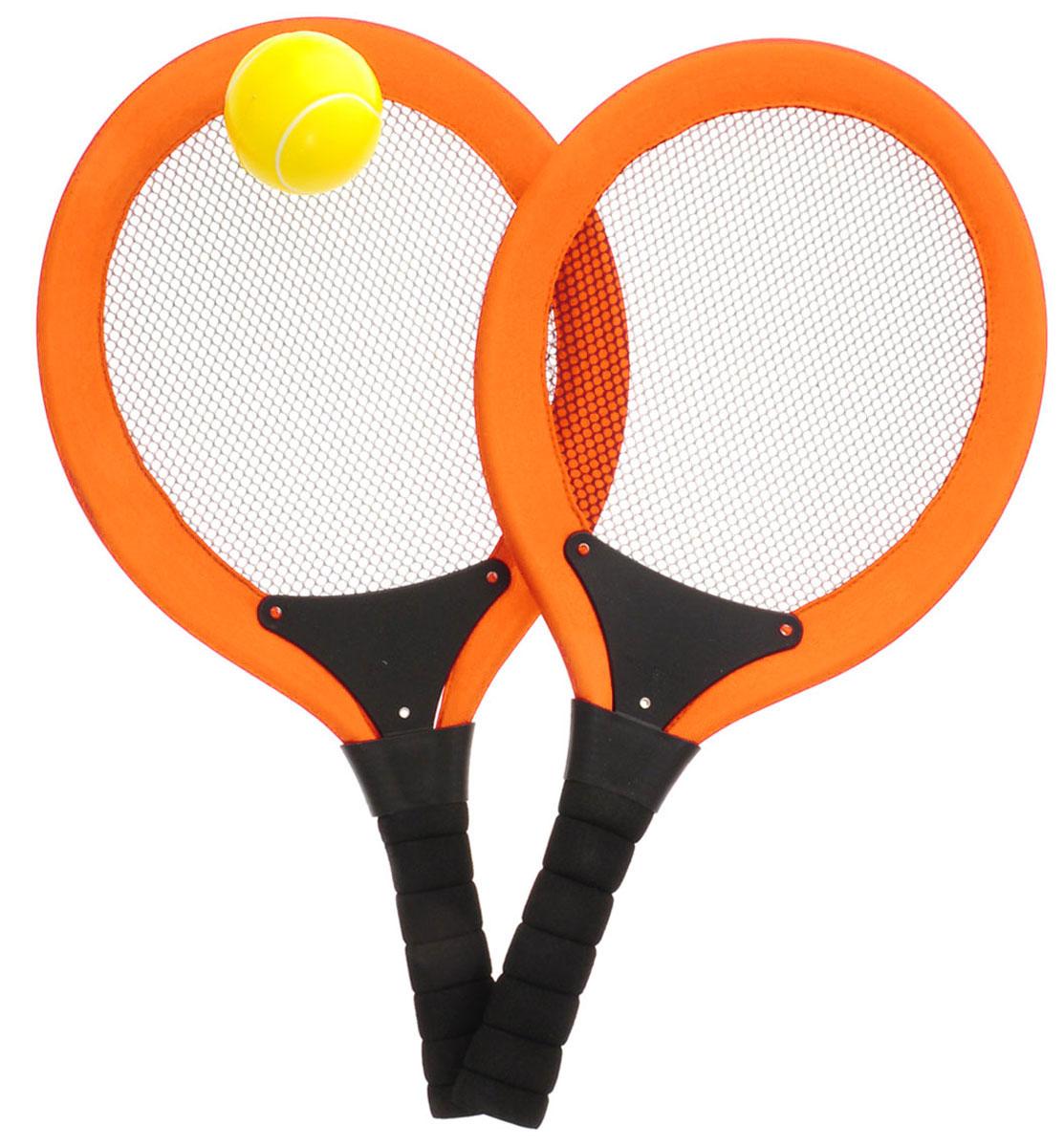 Abtoys Игровой набор Теннис цвет оранжевый теннис