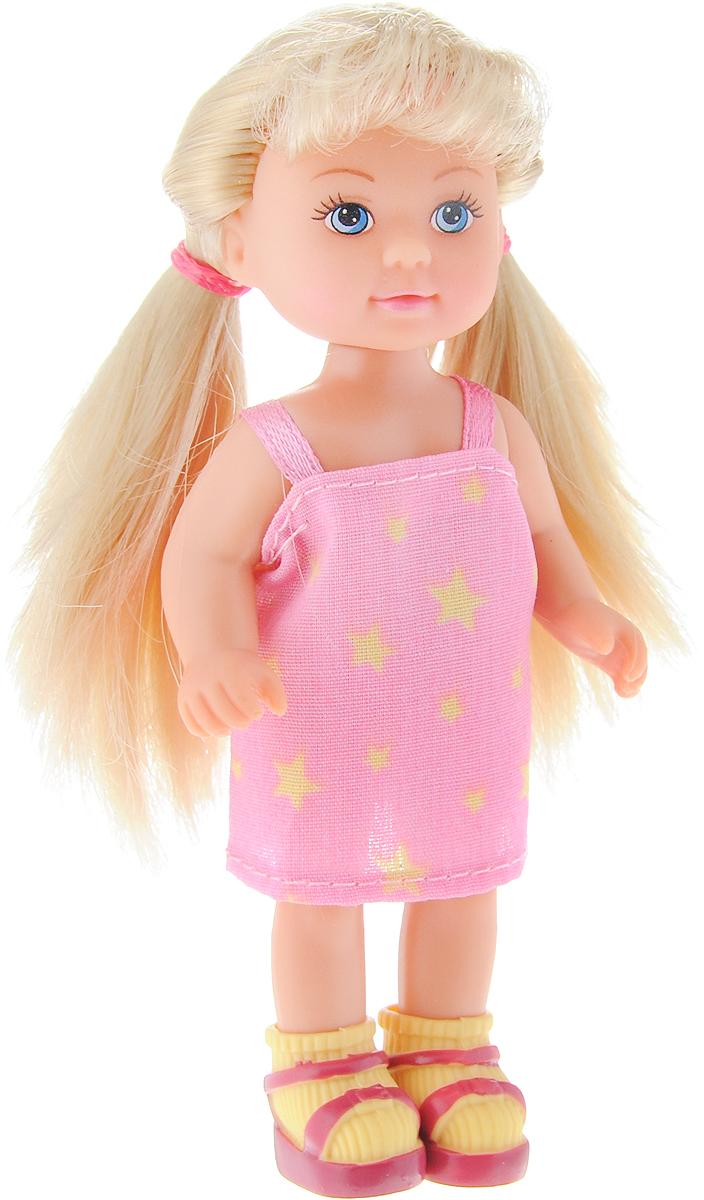 Simba Мини-кукла Еви в летней одежде цвет розовый simba мини кукла еви в летней одежде цвет розовый