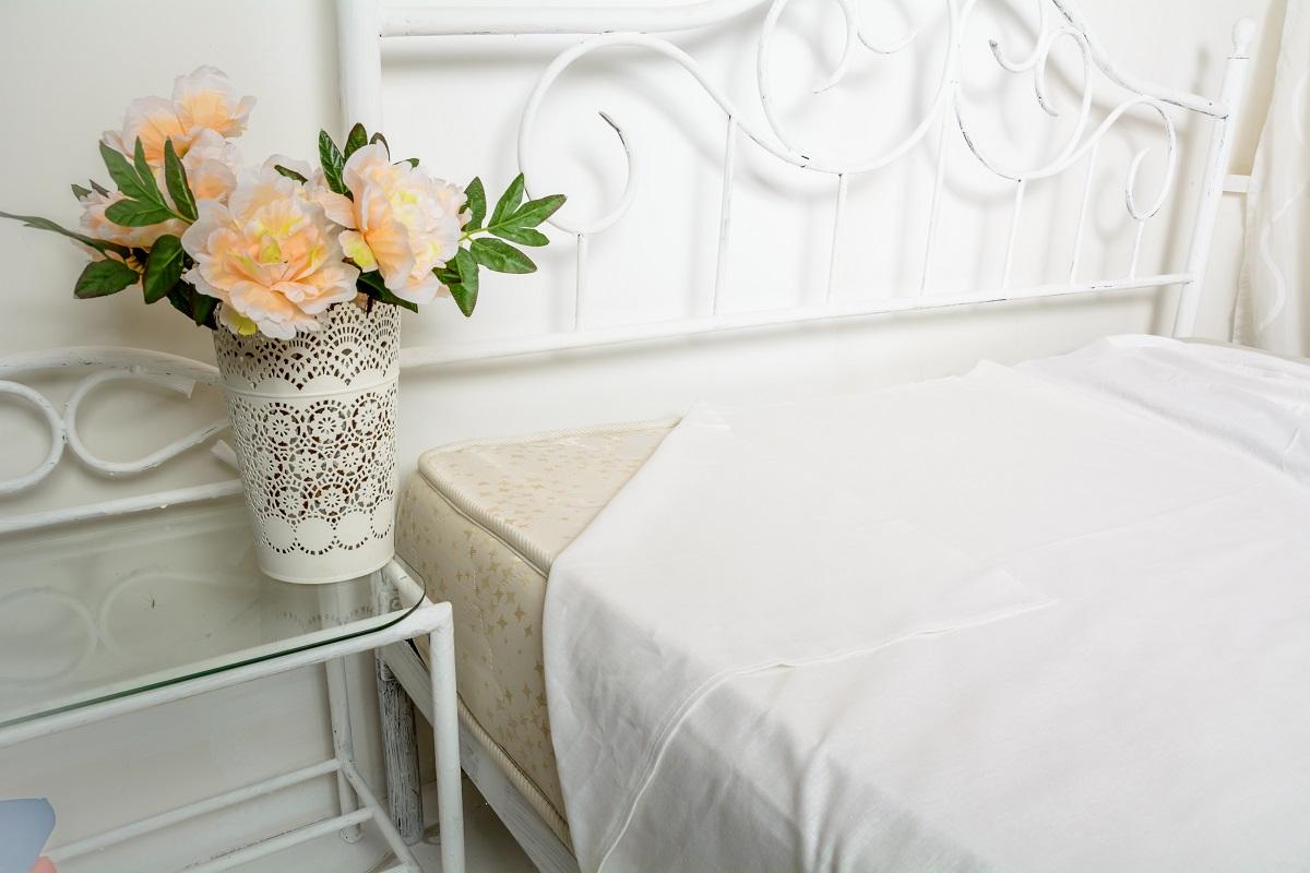 Простыня Гаврилов-Ямский Лен, цвет: белый, 180 х 220 см. 361 capri одежда из льна