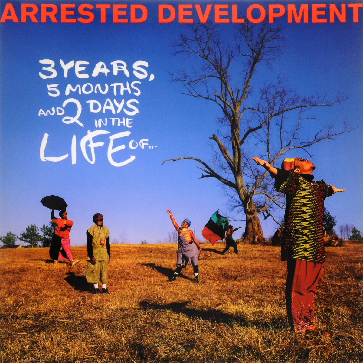 Arrested Development Arrested Development. 3 Years, 5 Months And 2 Days In The Life (LP) синийцвет 3 6 months