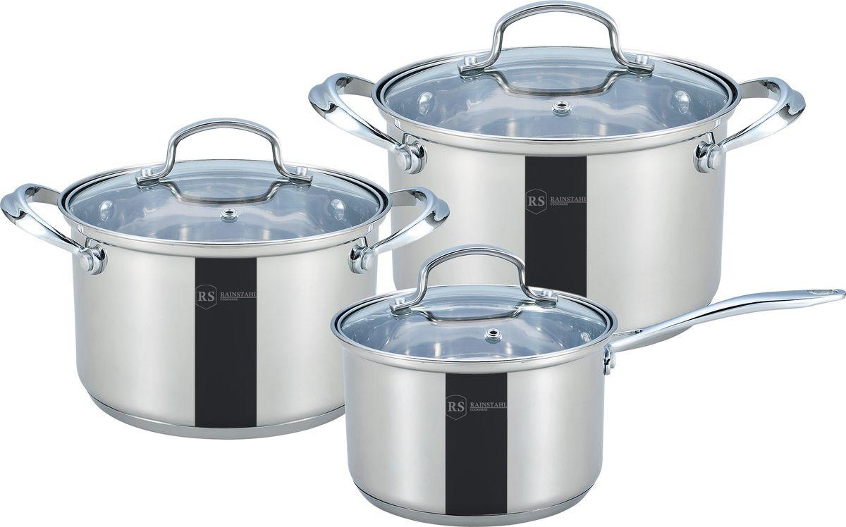 Набор посуды Rainstahl, 6 предметов. 1616-06RS\CW