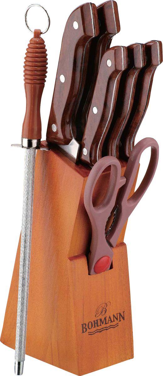 "Набор ножей ""Bohmann"", на подставке, 8 предметов. 5103BHMAR/308MAR"