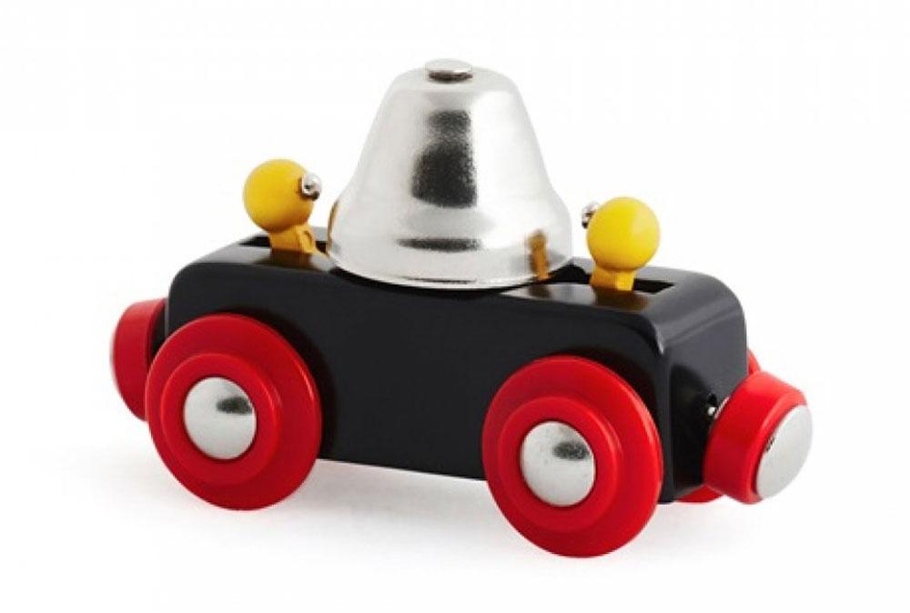 Brio Вагон с сигнальным колокольчиком brio паровоз локомотив цвет зеленый