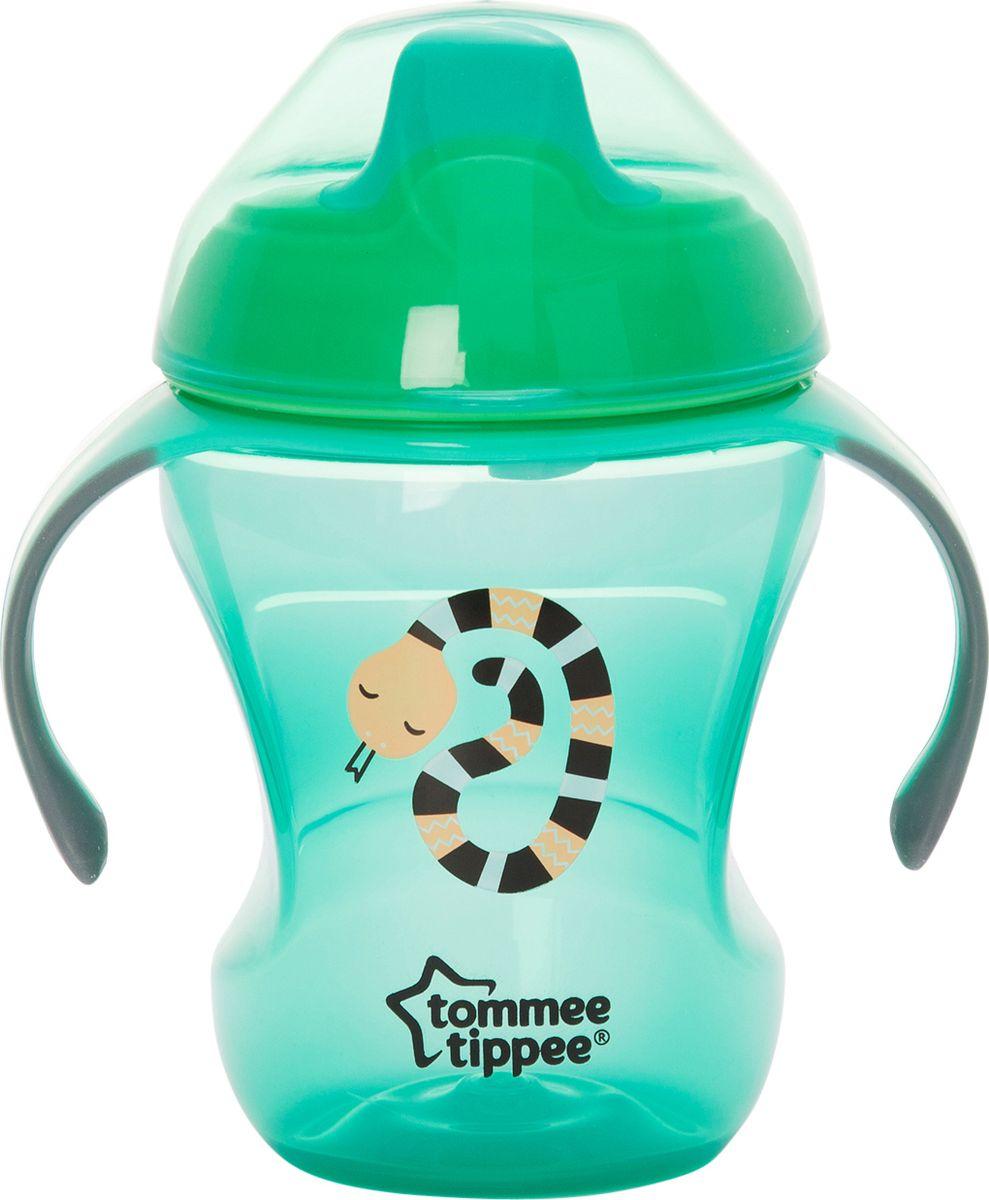 Фото - Tommee Tippee Чашка-поильник Explora Easy Drink от 6 месяцев цвет зеленый 230 мл [супермаркет] jingdong геб scybe фил приблизительно круглая чашка установлена в вертикальном положении стеклянной чашки 290мла 6 z