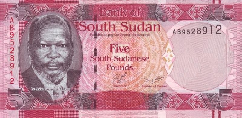 Банкнота номиналом 5 фунтов. Южный Судан. 2011 год банкнота номиналом 500 сирийских фунтов сирия 2013 год