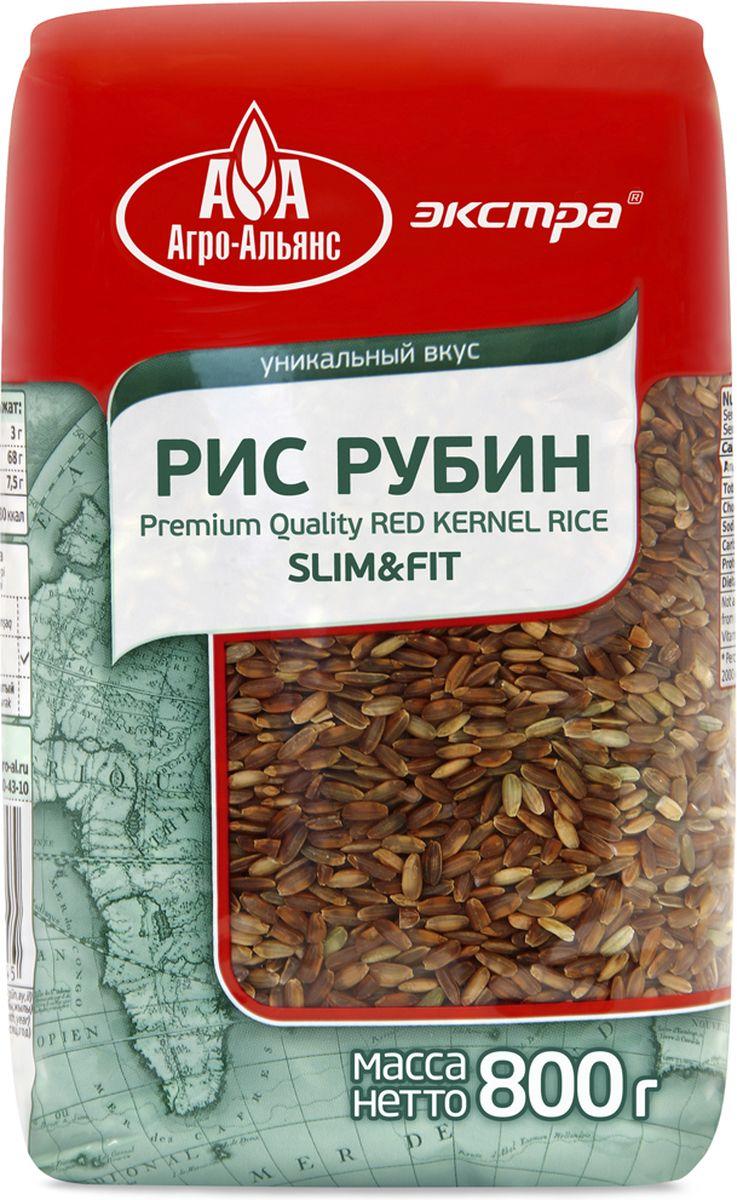 Агро-Альянс Экстра рис краснозерный рубин, 800 г цены