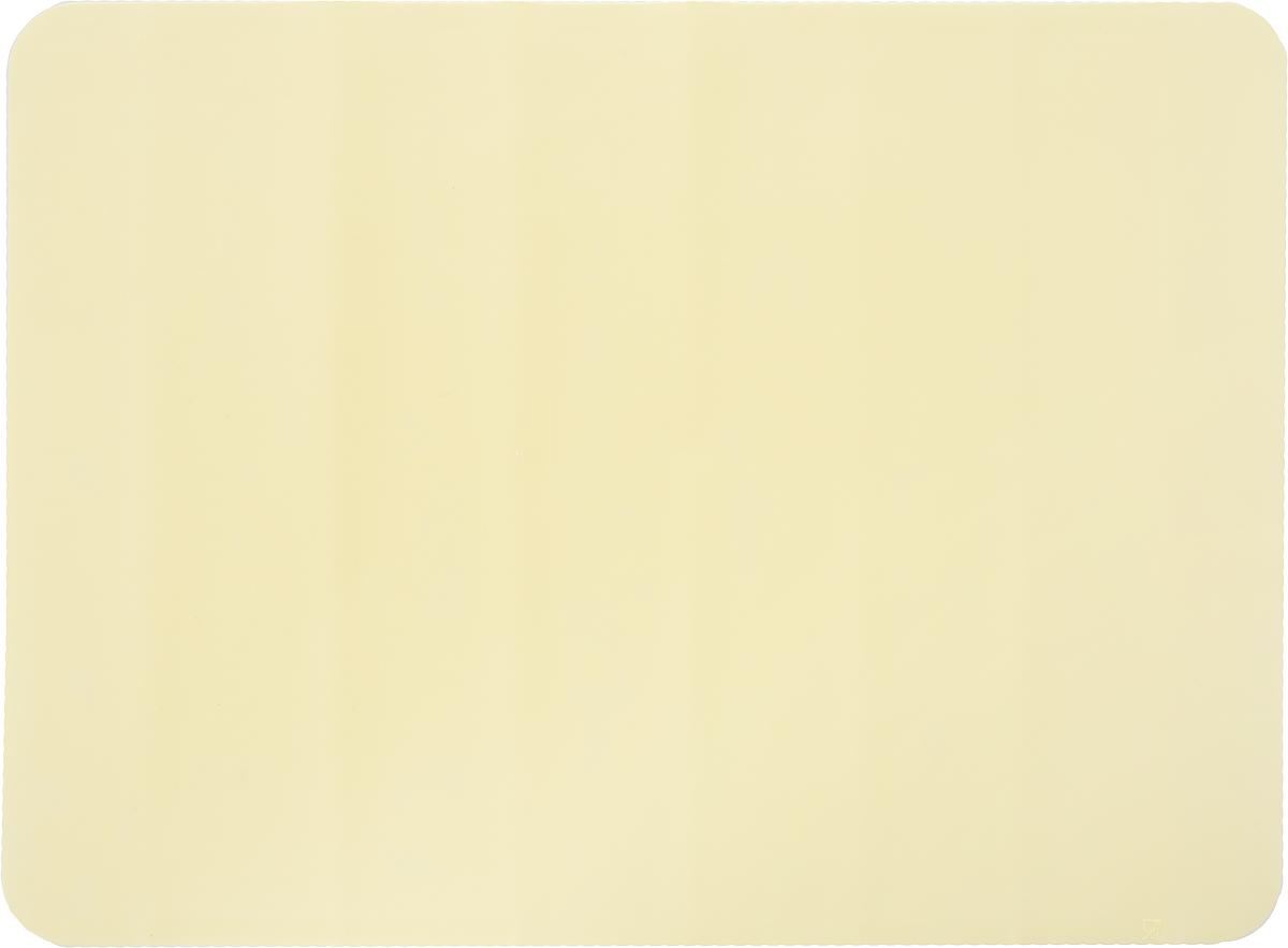 """Коврик для теста """"Marmiton"""", цвет: бежевый, 38 х 28 см"""