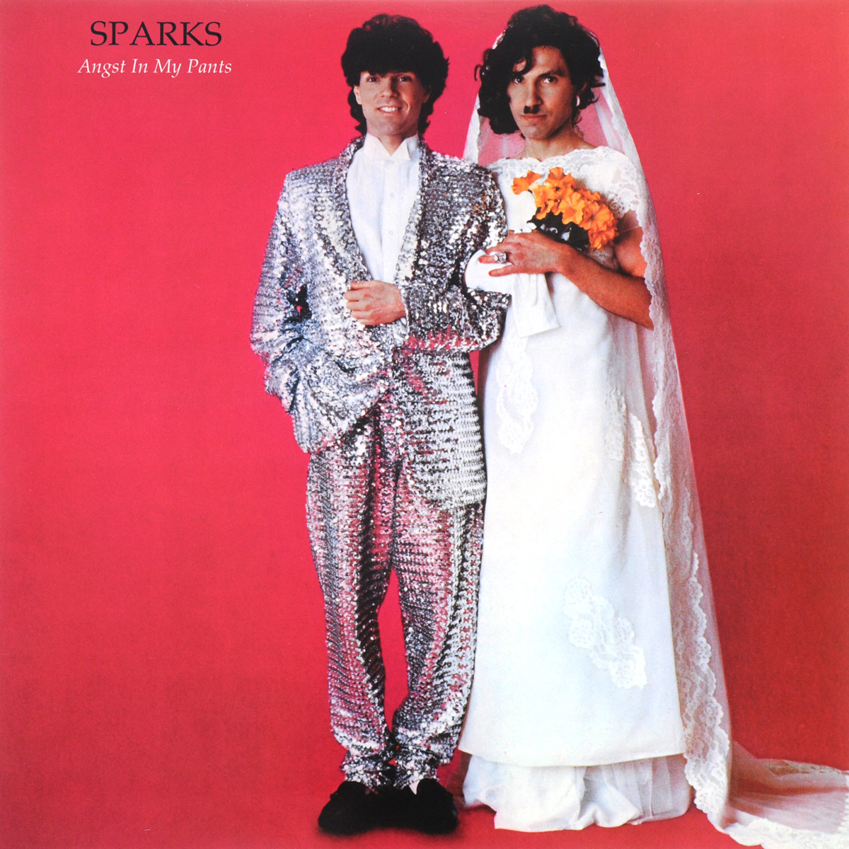 Sparks Sparks. Angst In My Pants. Limited Edition (LP + CD) striped side velvet pants