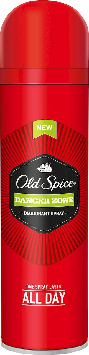 Дезодорант аэрозольный Old Spice Danger Zone, 150мл