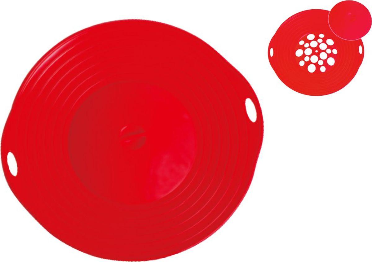 Крышка As Seen On TV Невыкипайка, цвет: красный, диаметр 29 см массажер as seen on tv relax and tone