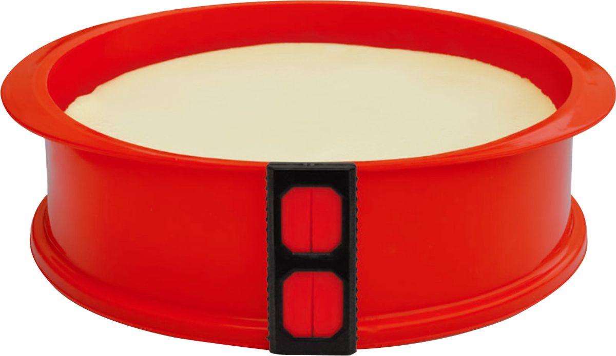 Форма для выпечки As Seen On TV, разъемная, силиконовая, диаметр 23 см кошелек зарядка as seen on tv
