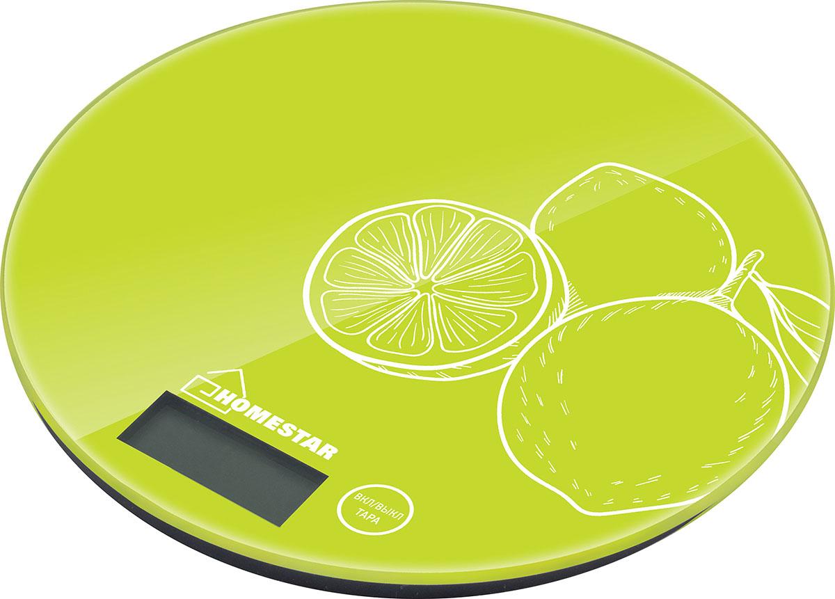 HomeStar HS-3007S, Lime весы кухонные