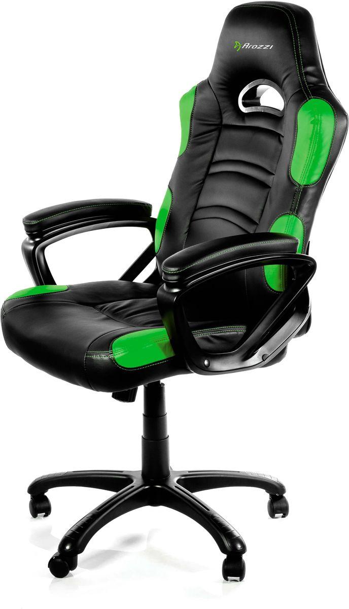 Arozzi Enzo, Green игровое кресло кресло для геймера arozzi enzo orange enzo or