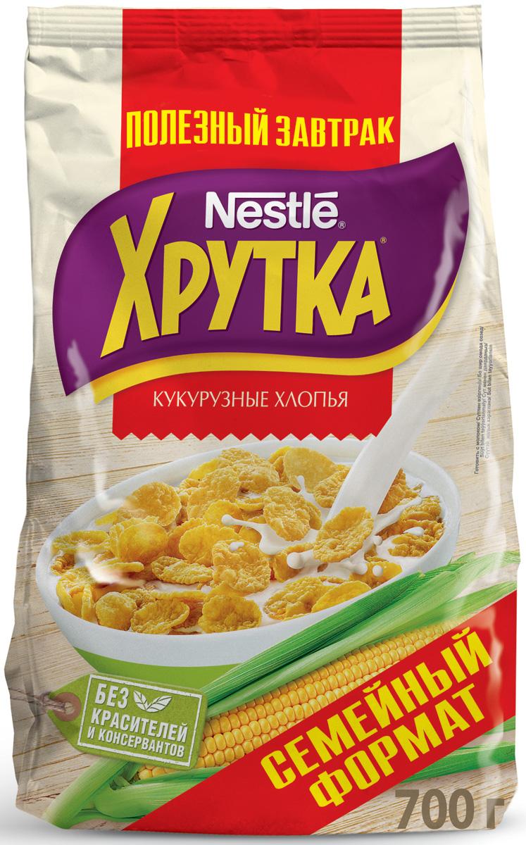 Nestle Хрутка Кукурузные хлопья готовый завтрак, 700 г nestle 900