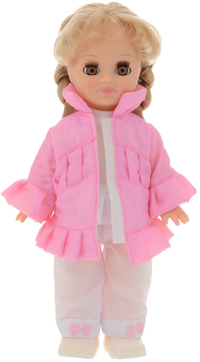 Весна Кукла озвученная Олеся цвет одежды розовый белый