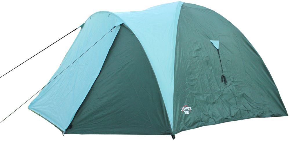 Палатка Campack Tent Mount Traveler 4, 4-х местная, цвет: зеленый, серый, черный