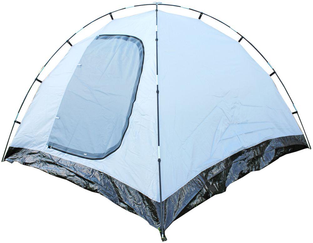 Палатка Campack Tent Trek Traveler 4 4х местная цвет  зеленый серый черный
