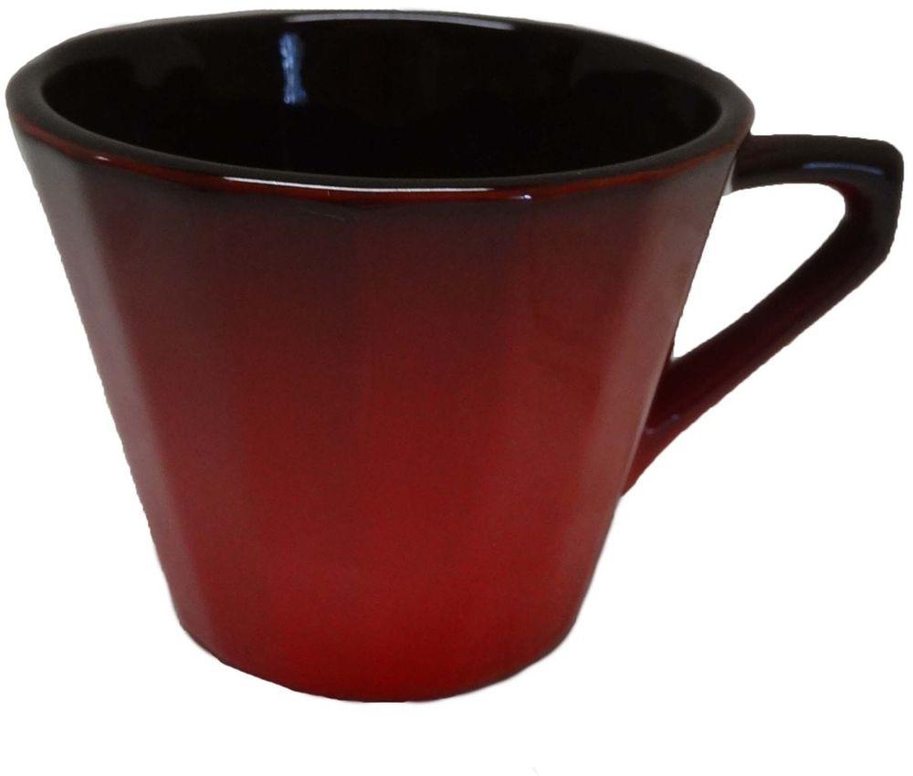 Чашка чайная Борисовская керамика Ностальгия, 200 мл. КРС14458001 чашка чайная борисовская керамика ностальгия цвет желтый серый 200 мл
