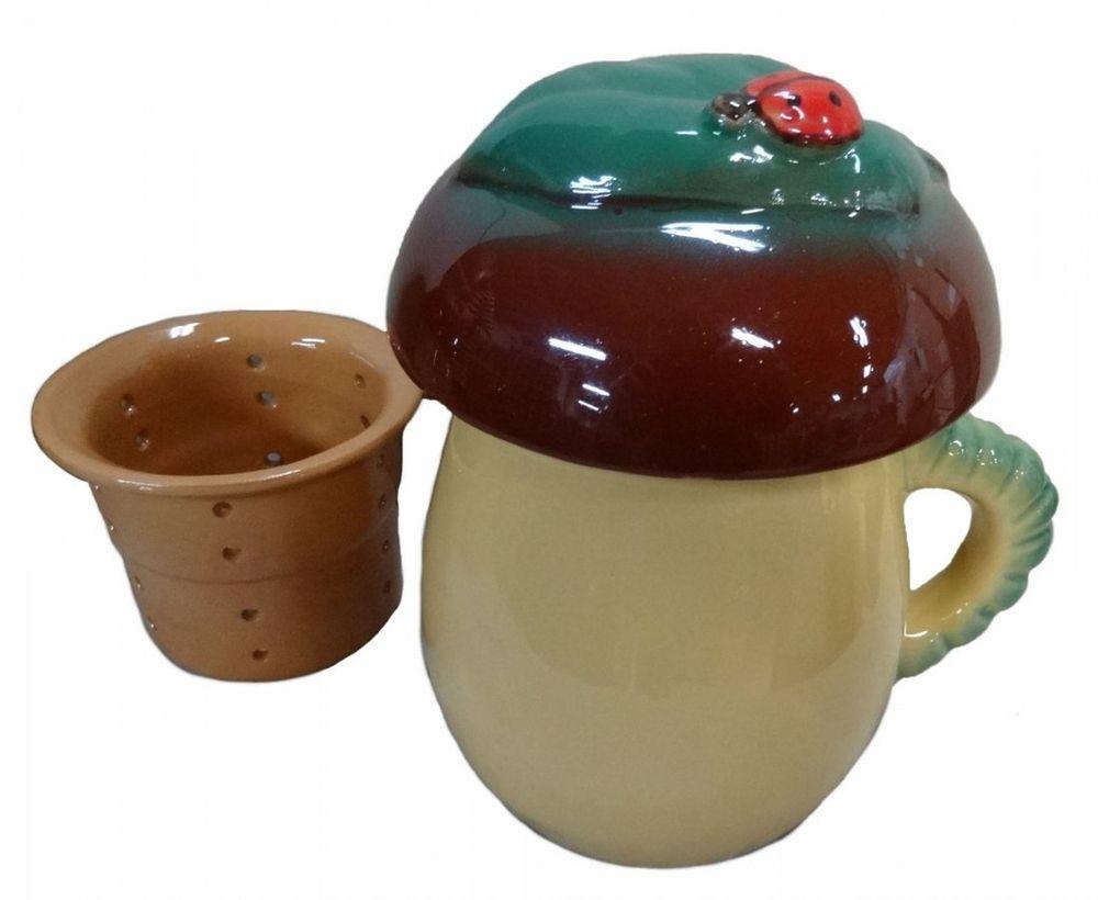 """Чашка чайная Борисовская керамика """"Гриб"""", 450 мл"""
