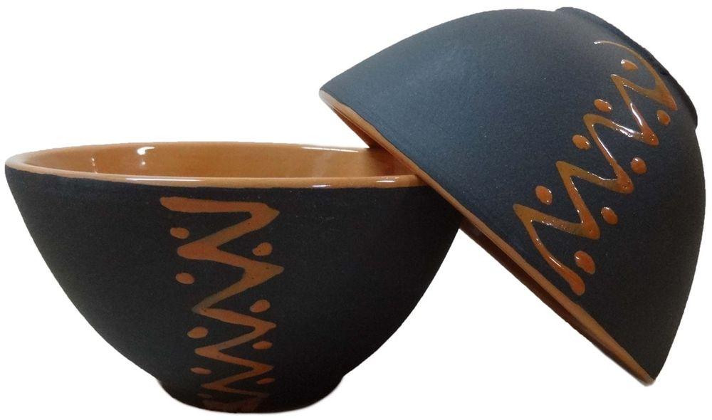 Пиала Борисовская керамика Классика, цвет: черный, оранжевый, 250 мл пиала борисовская керамика классика 250 мл мрм14458418
