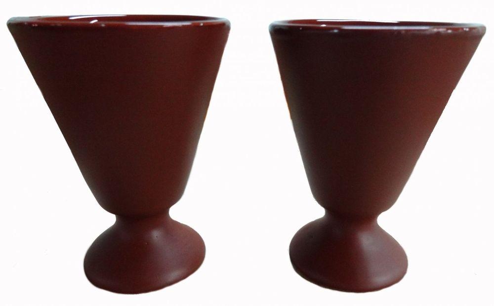 """Бокал Борисовская керамика """"Шелк"""", цвет: коричневый, 150 мл"""