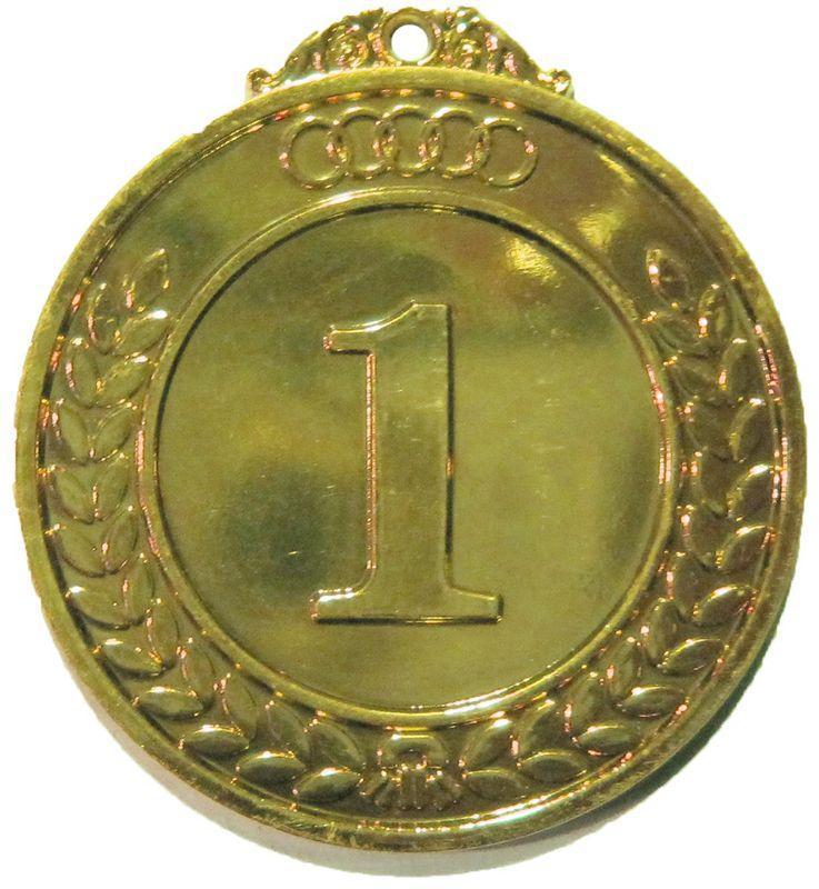 Медаль классическая Start Up, цвет: золото, диаметр 5 см цена