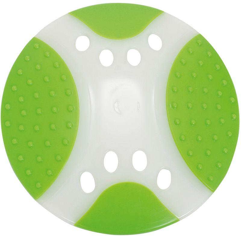 Игрушка для собак Грызлик Ам Тарелка летающая. Frisbee Dental Nylon, цвет: зеленый, диаметр 17 см радиоуправляемая игрушка летающая тарелка
