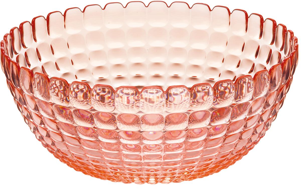"Салатник Guzzini ""Tiffany"", цвет: коралловый, 3 л"