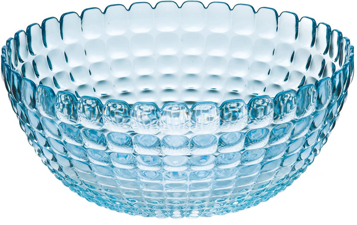 Салатник Guzzini Tiffany, цвет: голубой, 3 л