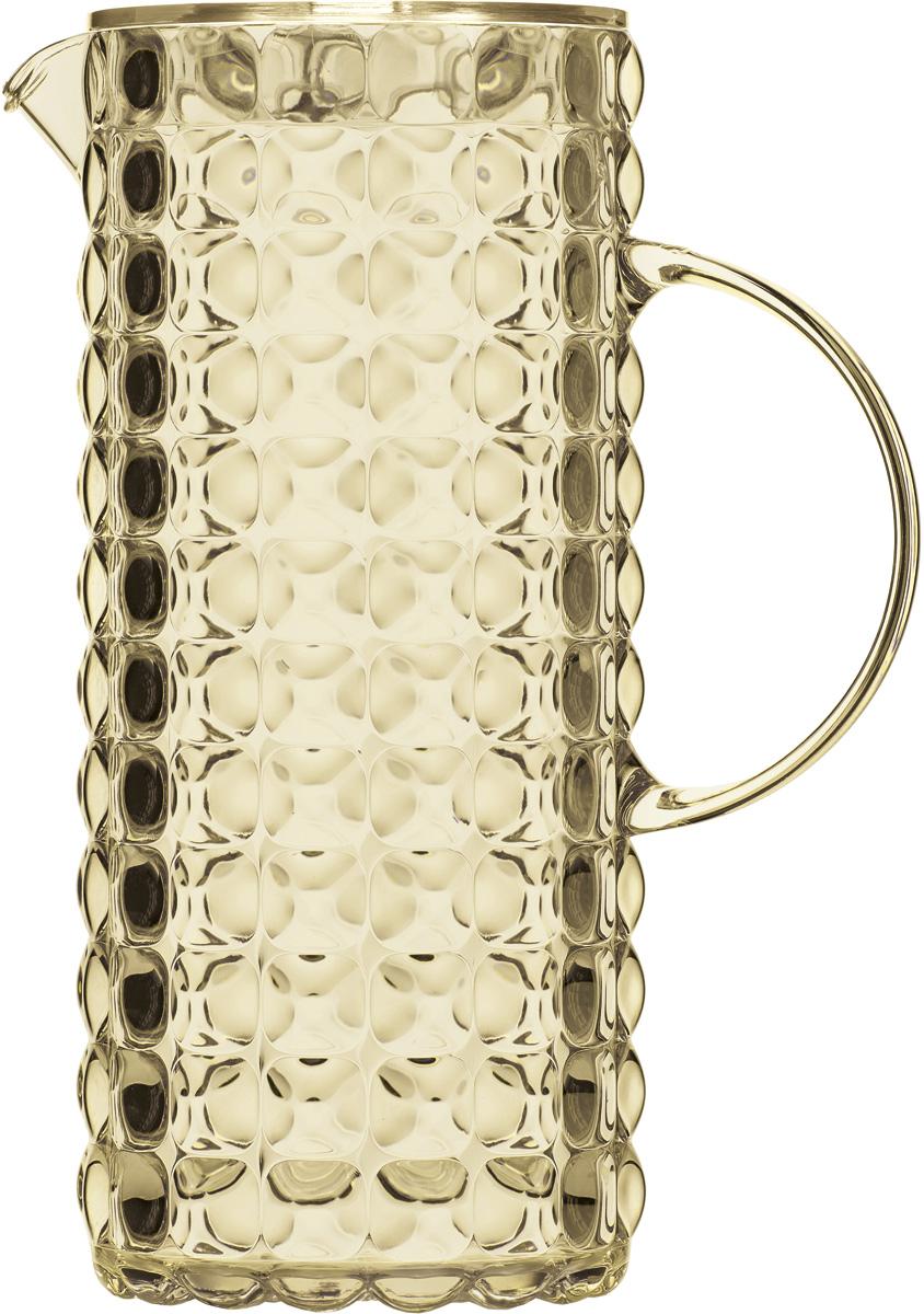 """Кувшин для напитков Guzzini """"Tiffany"""", цвет: песочный, 1,75 л"""