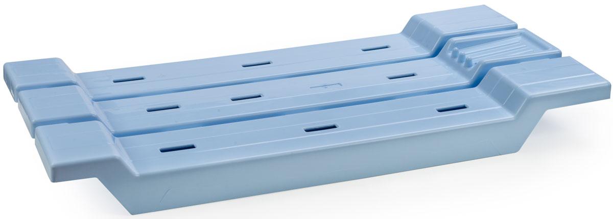 подставки для ванны Сиденье в ванную Berossi, цвет: голубой, 68,8 х 31 х 6,8 см