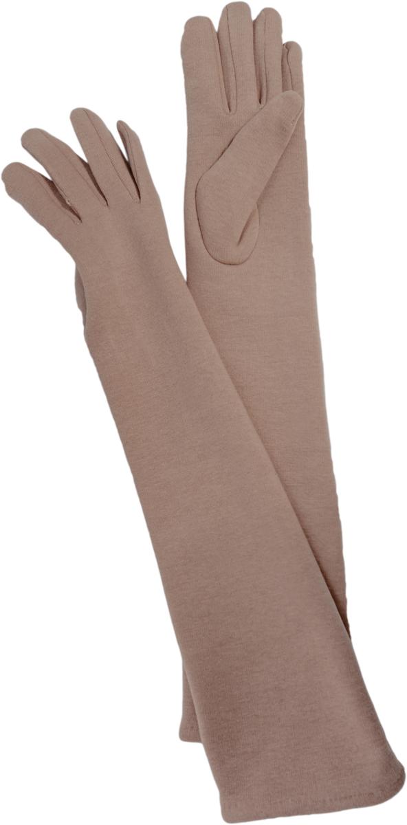 Перчатки женские длинные Sophie Ramage, цвет: бежевый. GL-217069. Размер универсальный