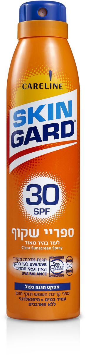 Skin Gard Солнцезащитный прозрачный спрей для тела SPF 30, 200 мл