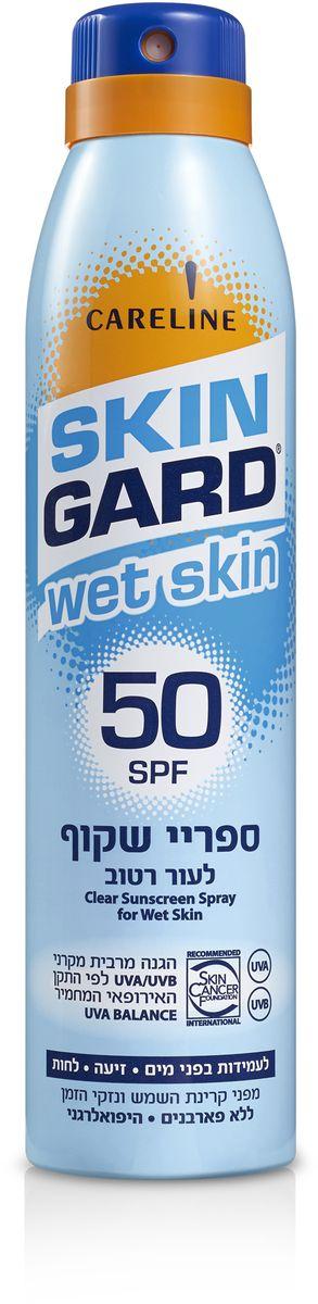 Skin Gard Солнцезащитный увлажняющий спрей для тела SPF 50, 200 мл
