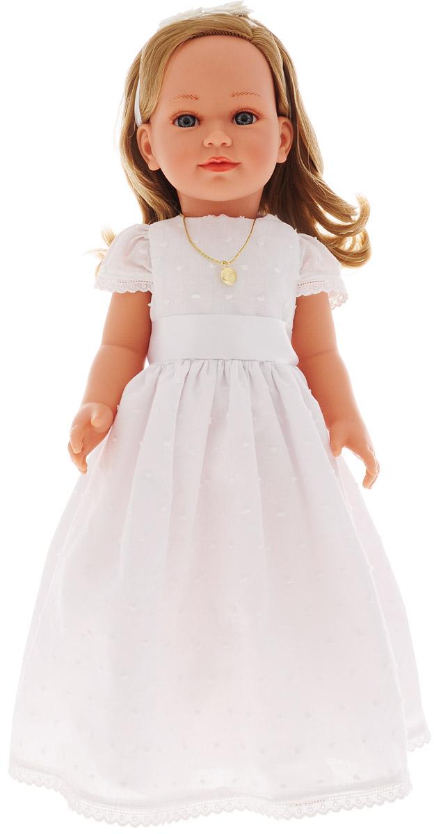 Vestida de Azul Кукла Корал блондинка Первое причастие