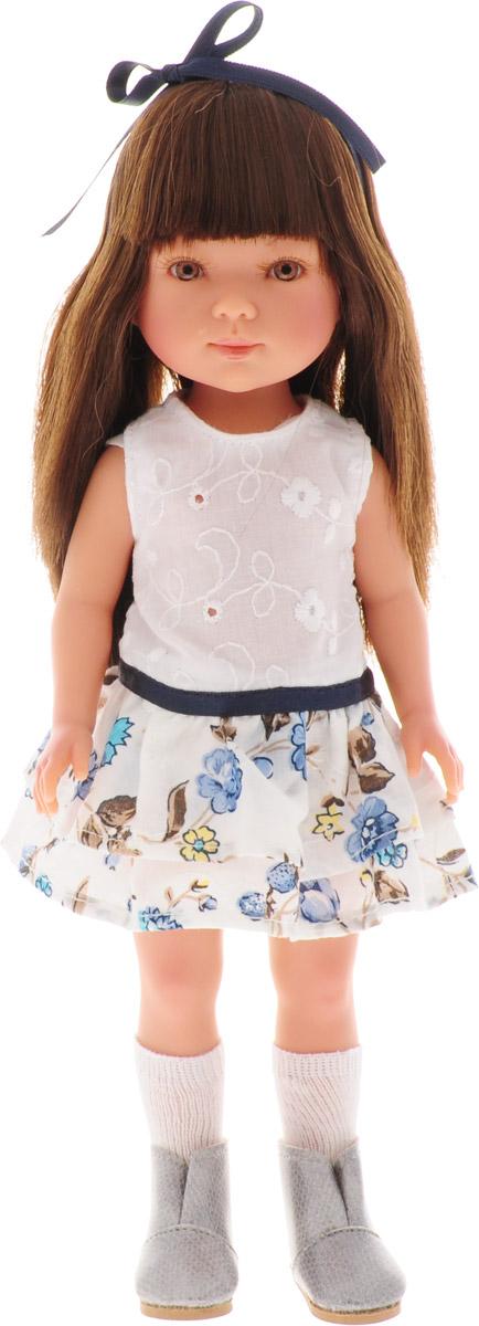 Vestida de Azul Кукла Карлотта брюнетка с челкой Лето Casual