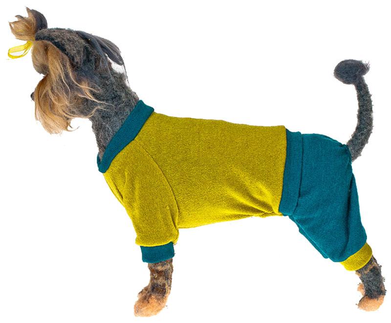 """Свитер для собак Happy Puppy """"Шарли"""", унисекс, цвет: салатовый. Размер XXXL"""