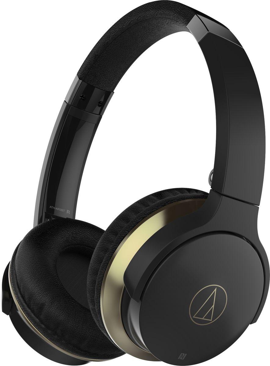 Беспроводные наушники Audio-Technica ATH-AR3BT, черный